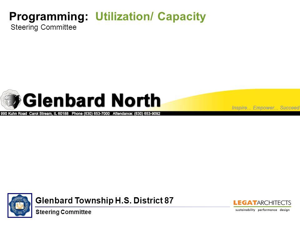 Glenbard Township H.S. District 87 Steering Committee Programming: Utilization/ Capacity Steering Committee Glenbard North H.S.
