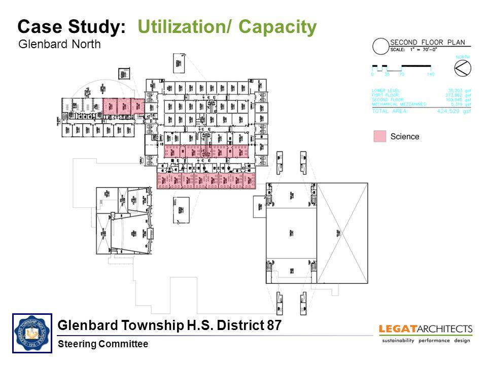 Glenbard Township H.S. District 87 Steering Committee Glenbard North Case Study: Utilization/ Capacity