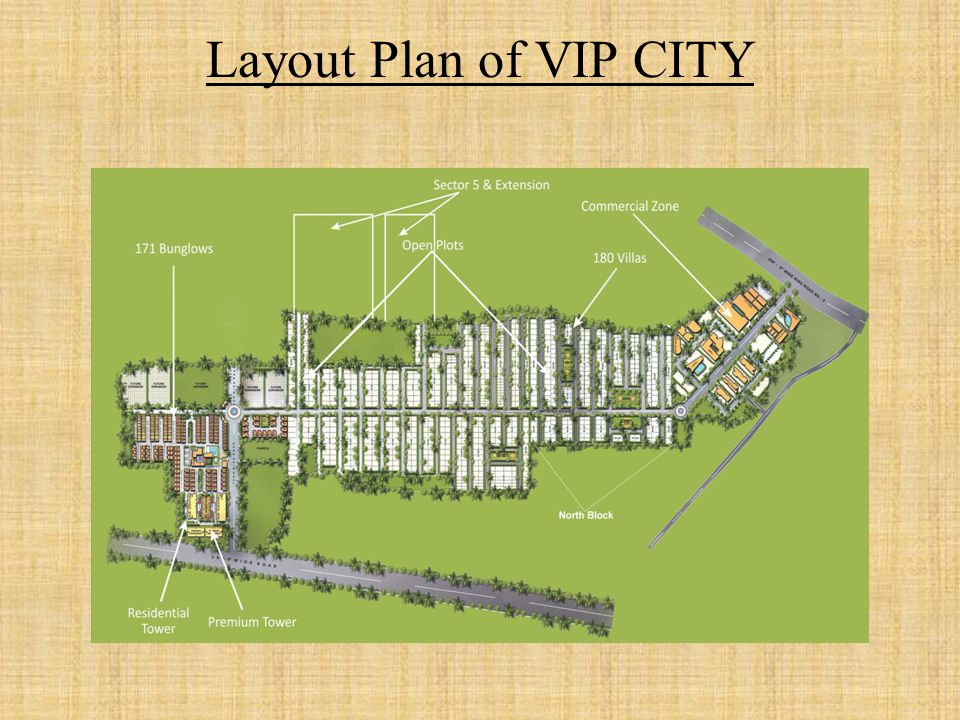 USP's of VIP CITY 1.VASTU Compliant 2.Biggest Integrated township of Central India.
