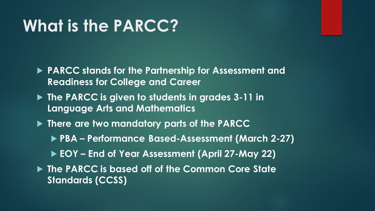 How does PARCC impact GE.