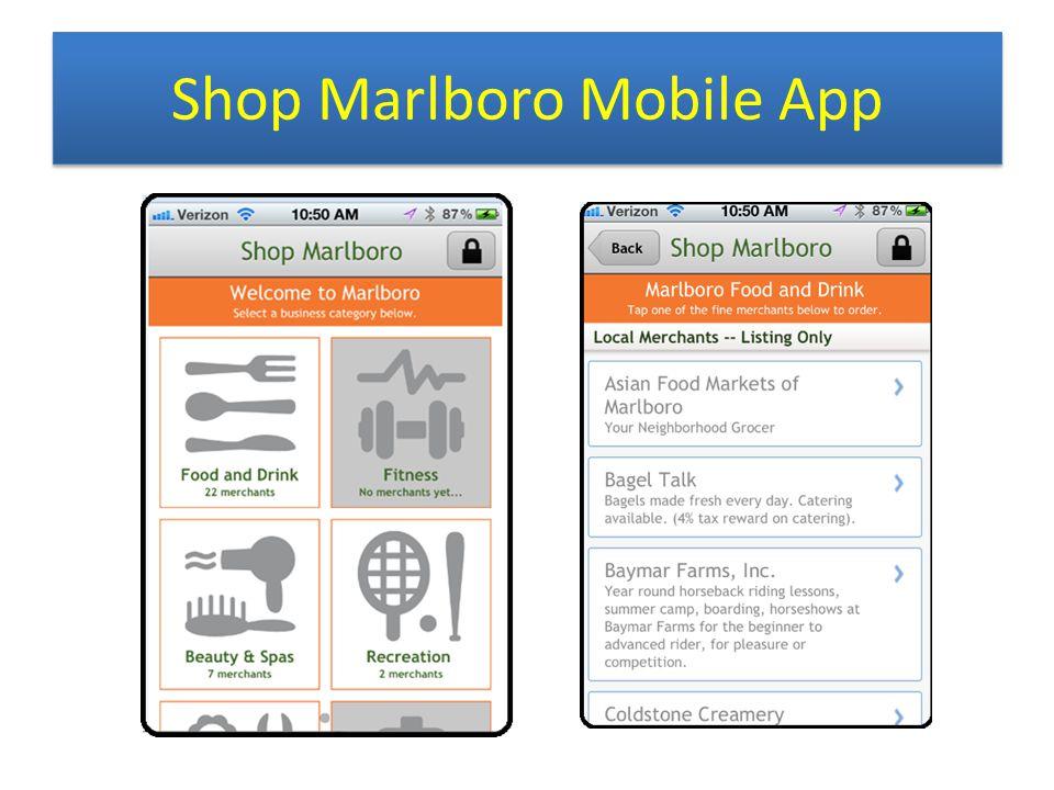 Shop Marlboro Mobile App