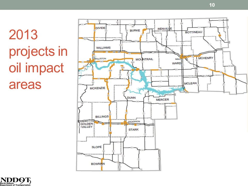 2013 projects in oil impact areas 10
