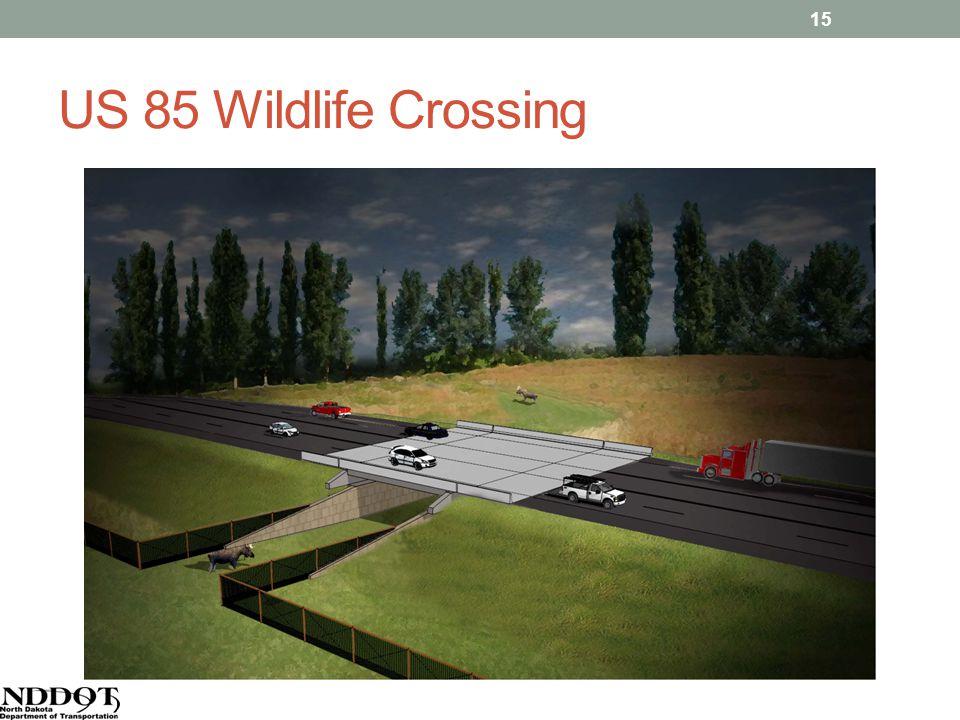 US 85 Wildlife Crossing 15