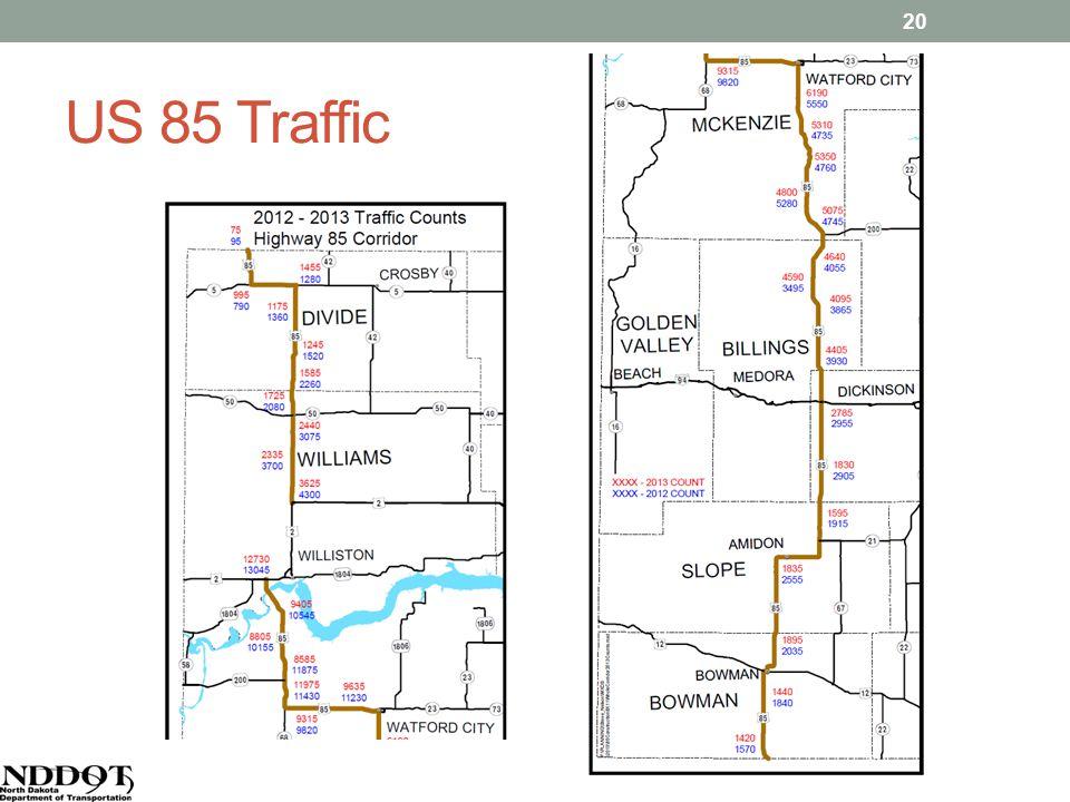 US 85 Traffic 20
