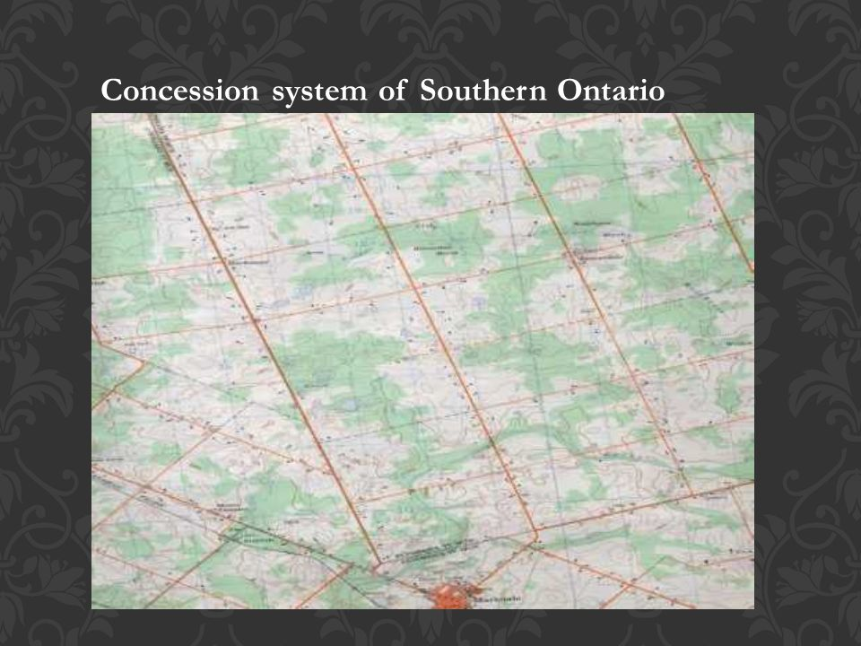 Concession system of Southern Ontario