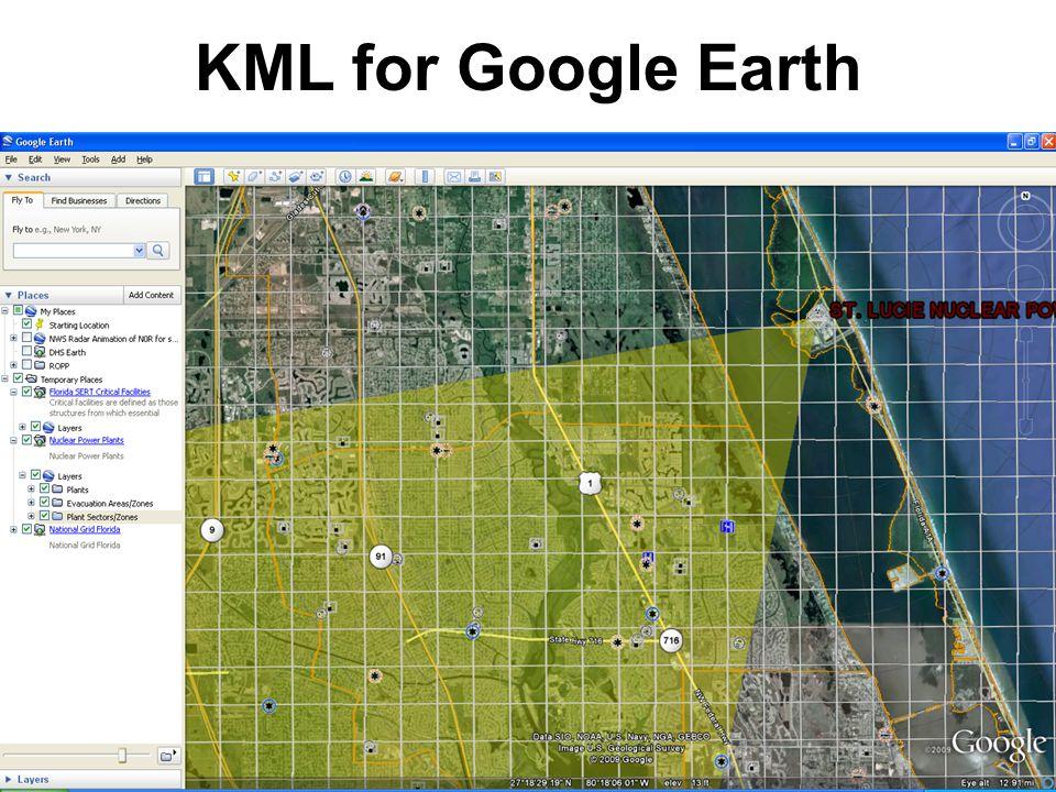 30 KML for Google Earth