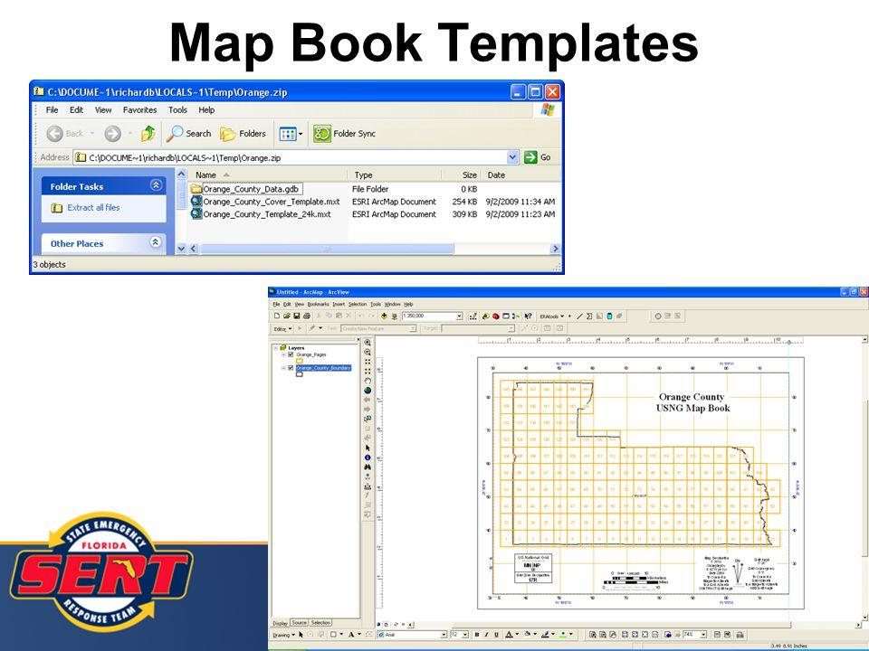 Map Book Templates