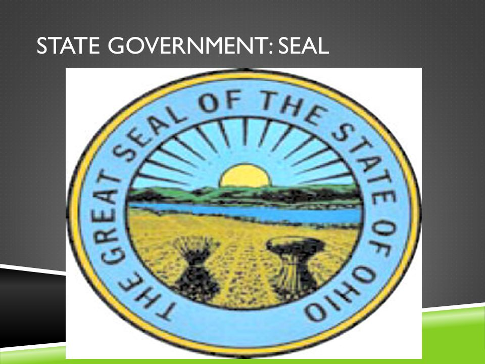 STATE GOVERNMENT: SEAL