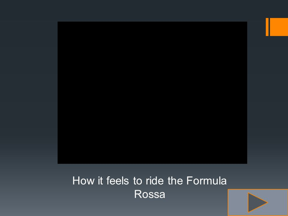 How it feels to ride the Formula Rossa