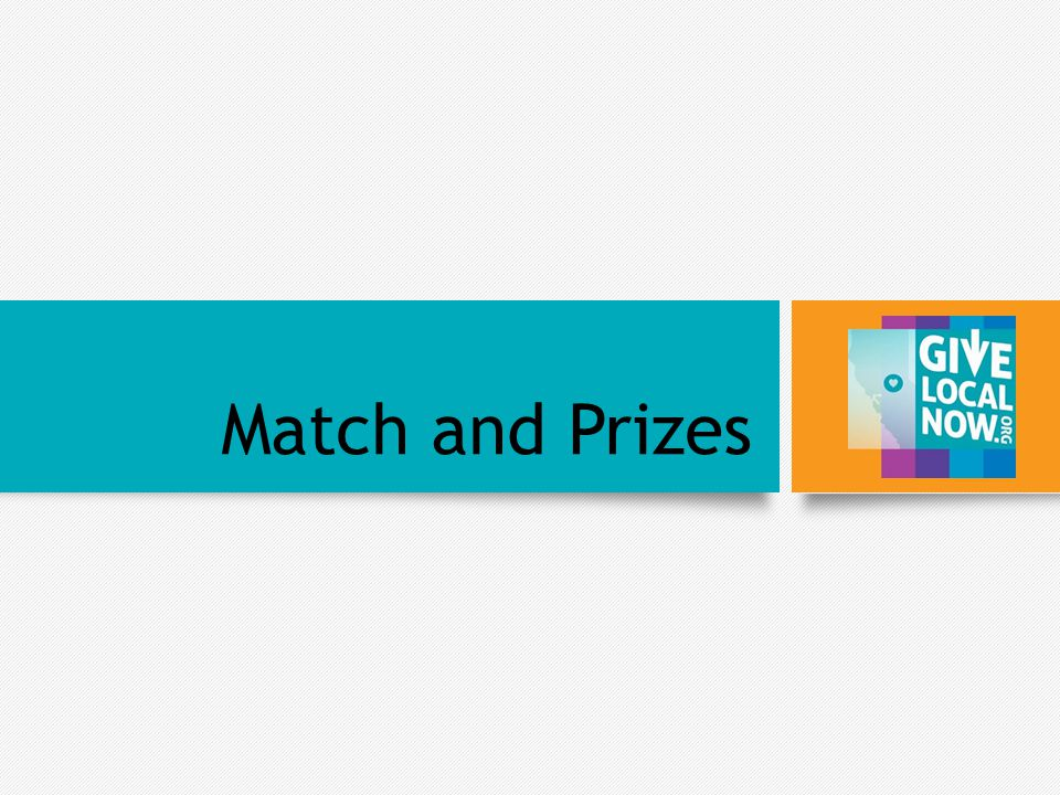 Match and Prizes