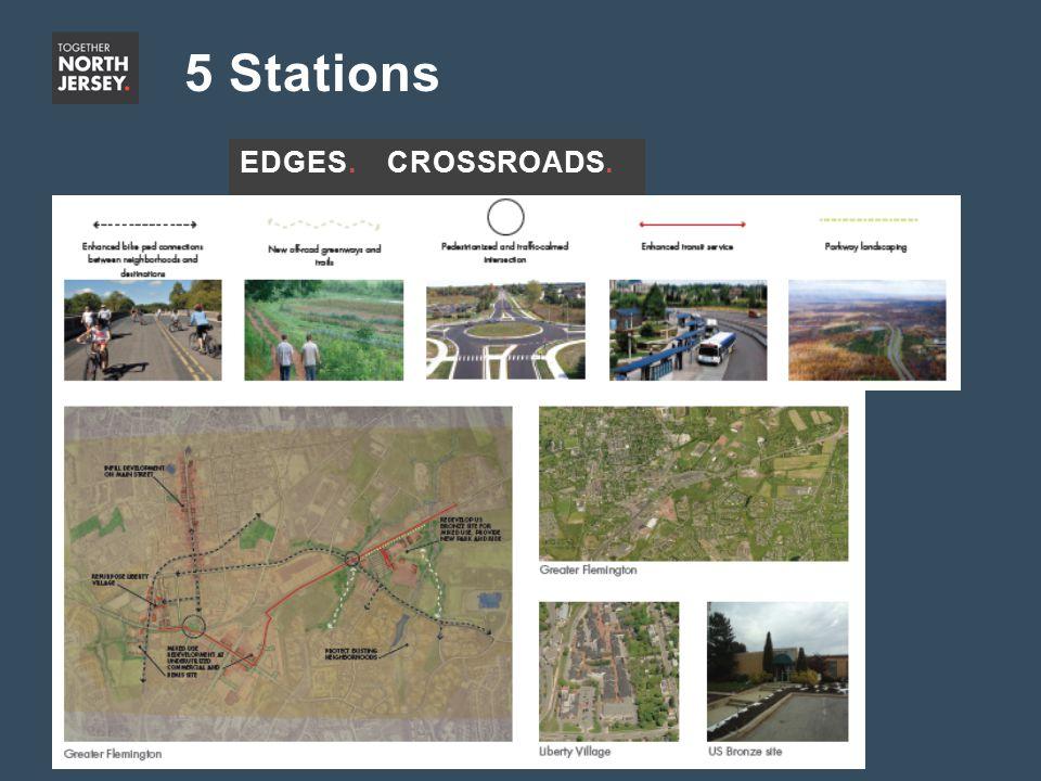 5 Stations EDGES.CROSSROADS.