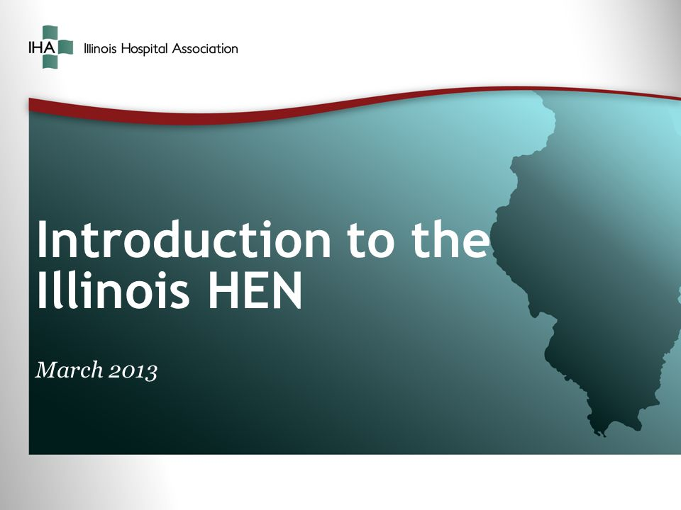 Introduction to the Illinois HEN March 2013