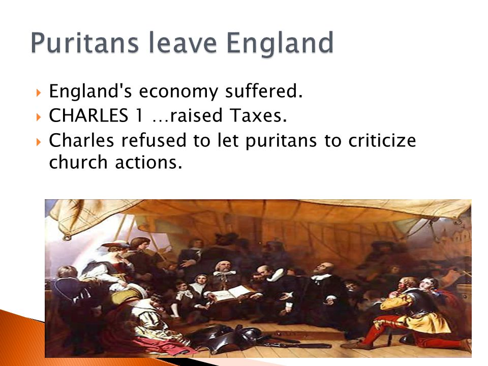  Pilgrims wanted to separate from the church of England,  Puritans wanted to purify the church.