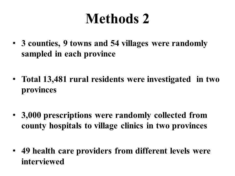 Results 1 Health facilitiesNo.of PreAver. No. of DrugsAver.