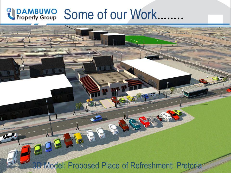 3D Model: Proposed Place of Refreshment: Pretoria