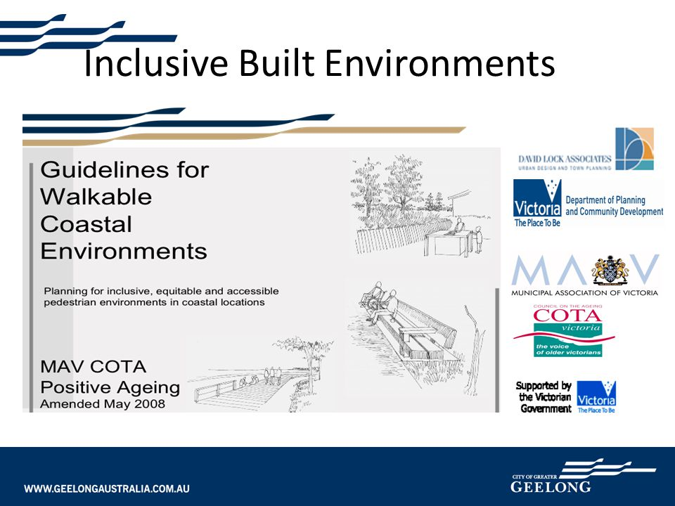 Inclusive Built Environments
