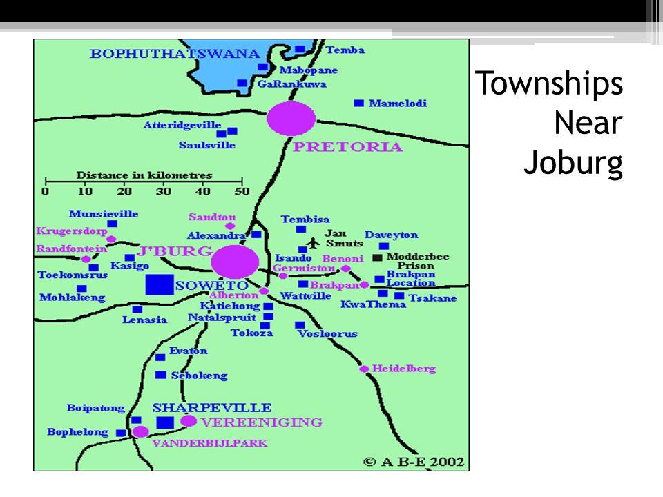 Townships Near Joburg