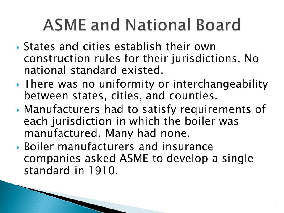  ASME published the first boiler code in 1915.