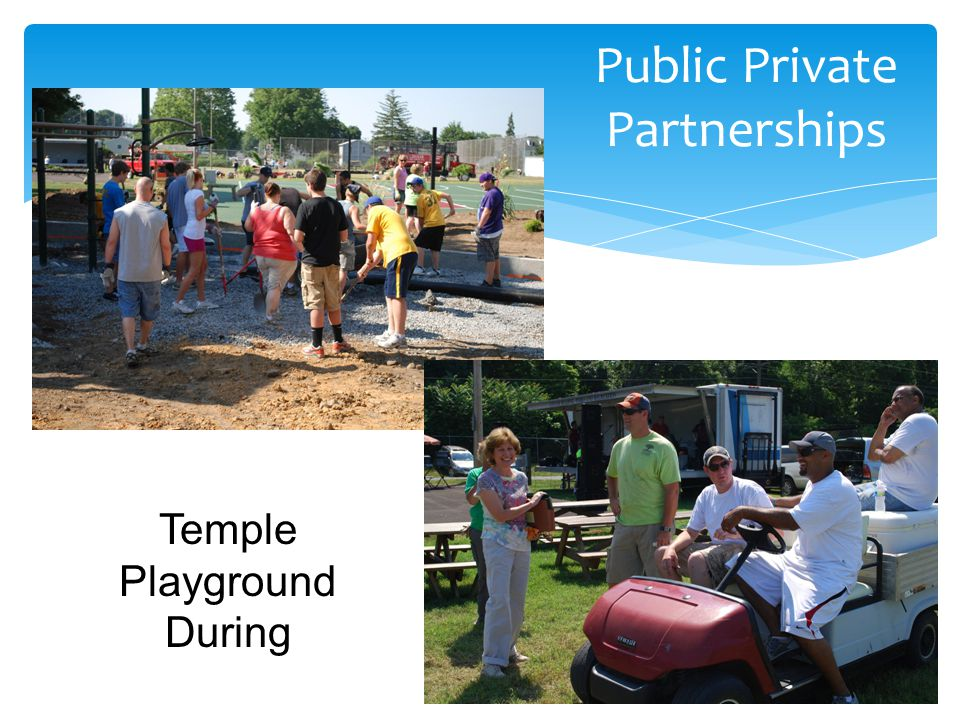 Public Private Partnerships Temple Playground During