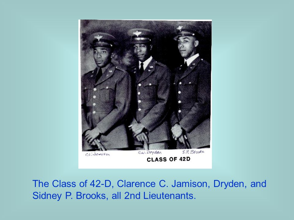 In 1943, The Journal and Guide, ran a story about the best negro combat pilots. Charles Dryden was named to the list which included 8 other pilots.