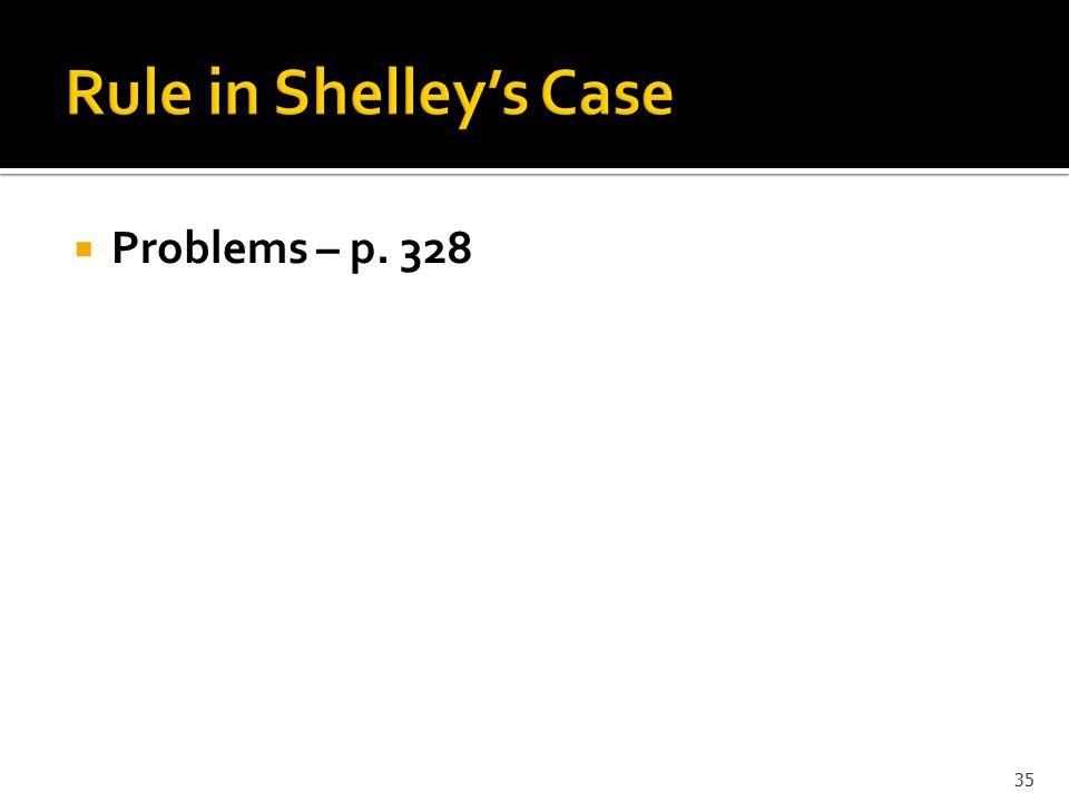  Problems – p. 328 35