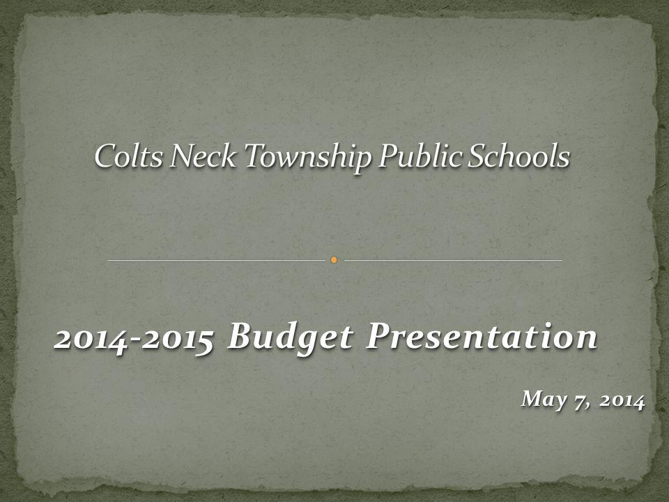 2014-2015 Budget Presentation May 7, 2014 2014-2015 Budget Presentation May 7, 2014