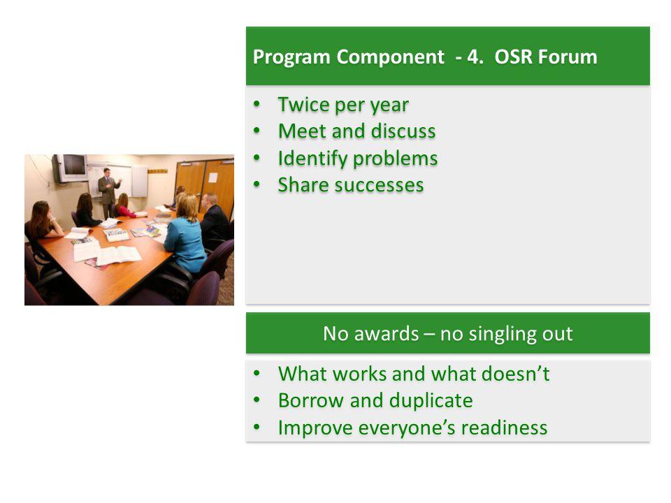 Program Component - 4.