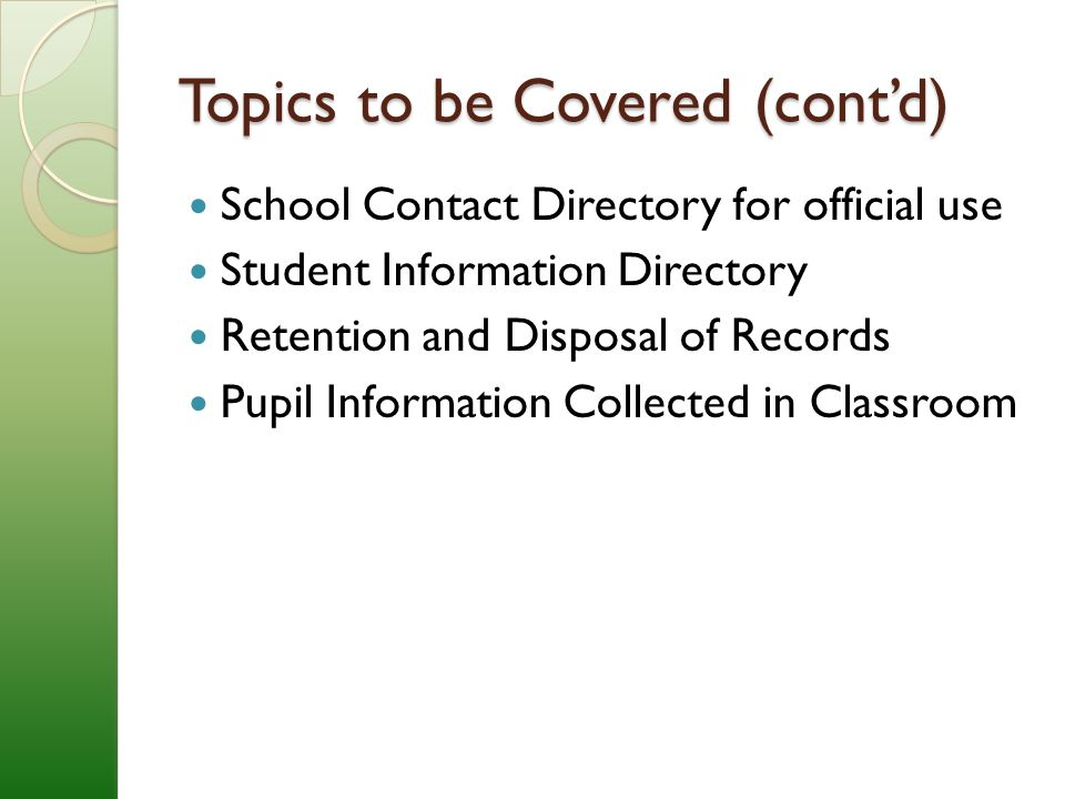 Definition of Student Record N.J.A.C.