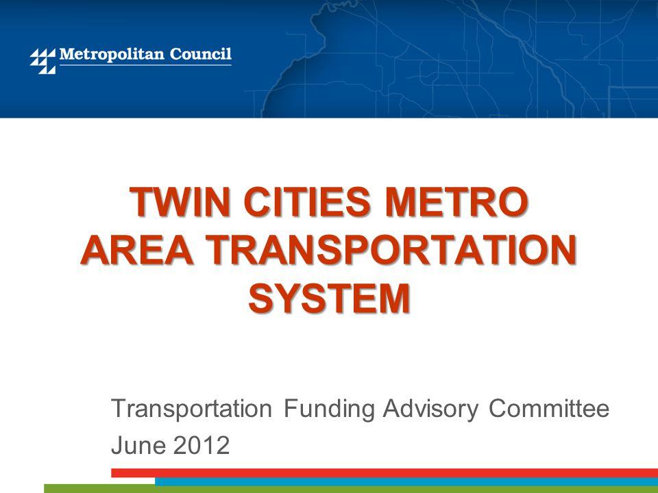 Metropolitan Road and Transit Funding Sources Total - $2.5 B (Est. 2011) 62