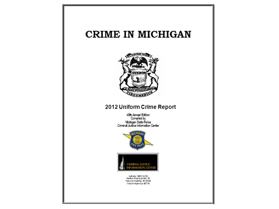 2012 Uniform Crime Report