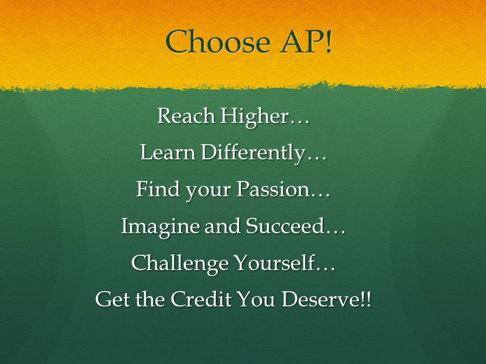 Choose AP.