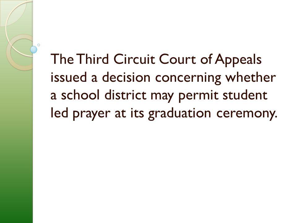 In ACLU v.Black Horse Pike Reg. Bd.