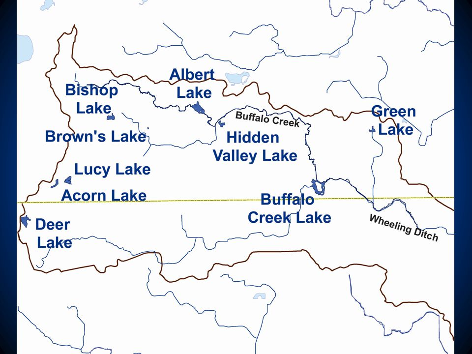 Source: Development of Hydrologic and Hydraulic Models, Buffalo Creek, Illinois DNR, Office of Water Resources, 2008 Cook County Lake County