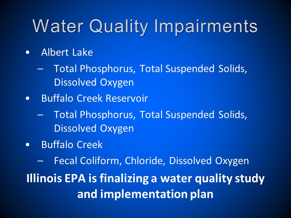 To get involved, contact: Jeff Weiss marjeff1@aol.com (847)224-0965 Marcy Knysz (847)732-5172 www.buffalocreekcleanwater.org