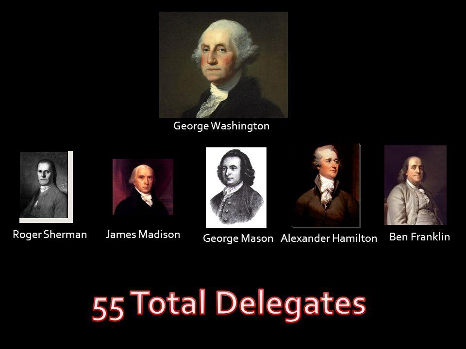 Ben Franklin Roger ShermanJames Madison George MasonAlexander Hamilton George Washington