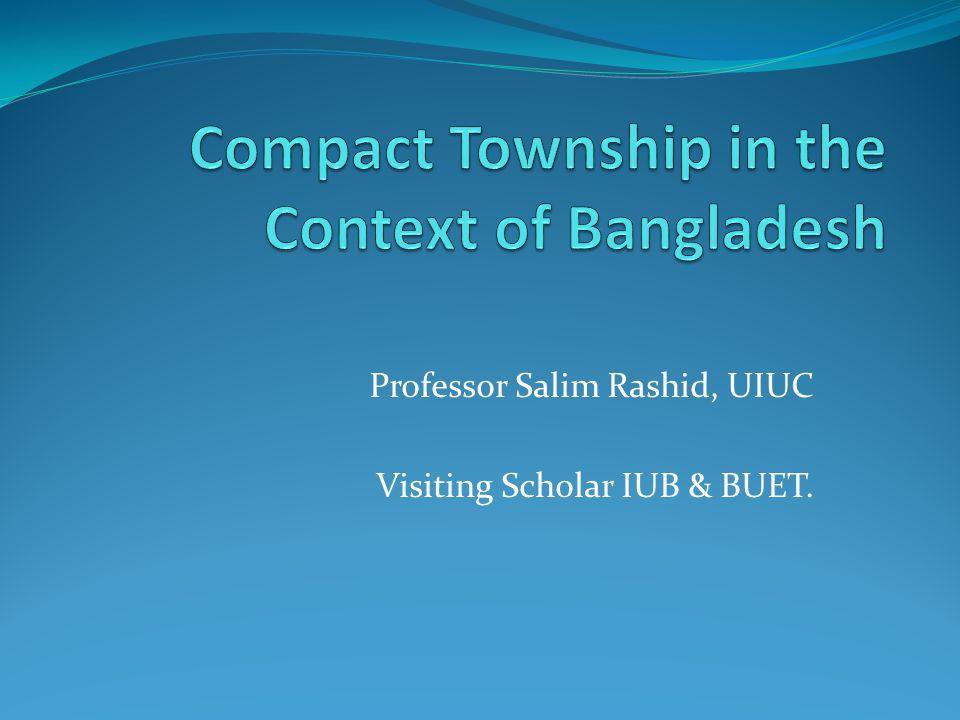 Professor Salim Rashid, UIUC Visiting Scholar IUB & BUET.