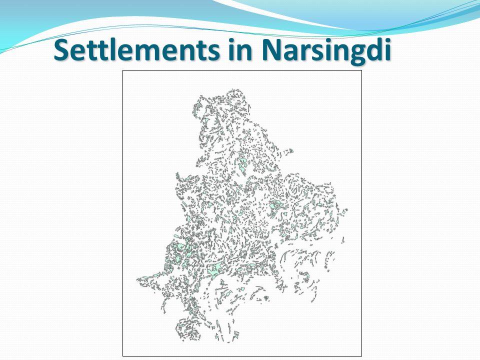 Settlements in Narsingdi