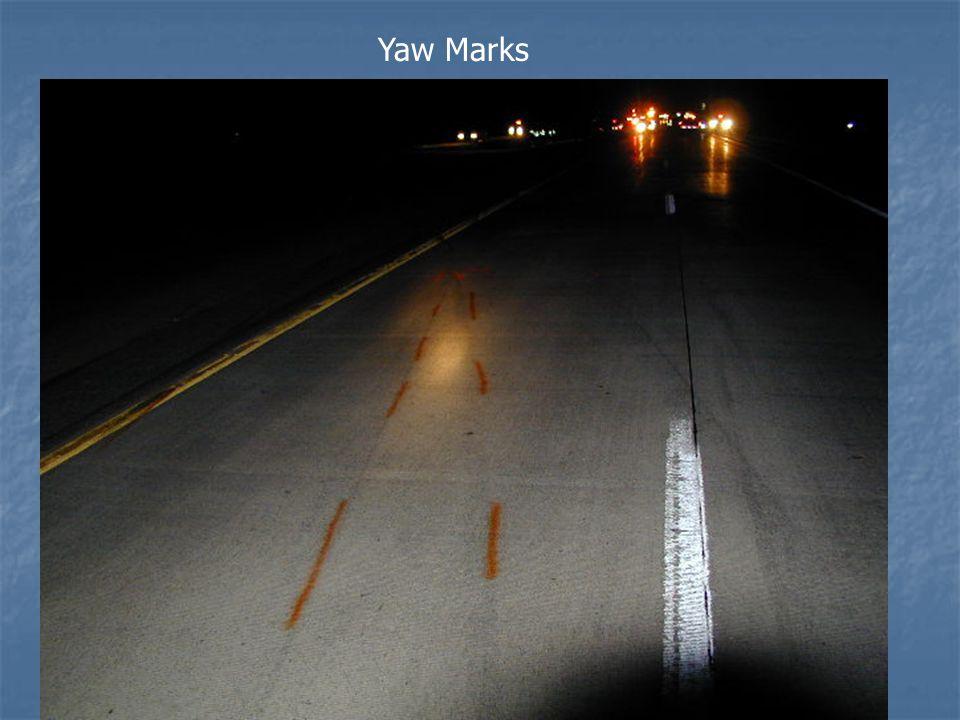 Yaw Marks
