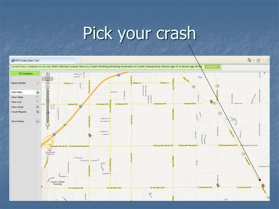 Pick your crash