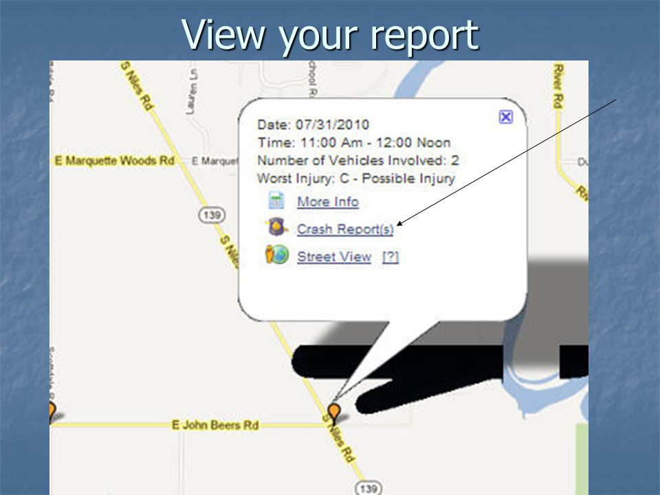 View your report