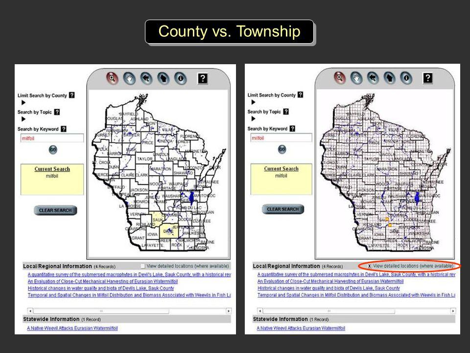 County vs. Township