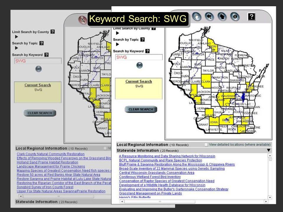 Keyword Search: SWG
