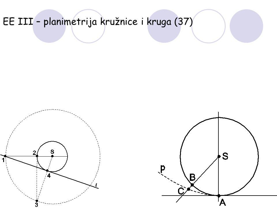 EE III – planimetrija kružnice i kruga (37)