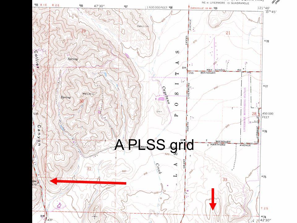 11 A PLSS grid