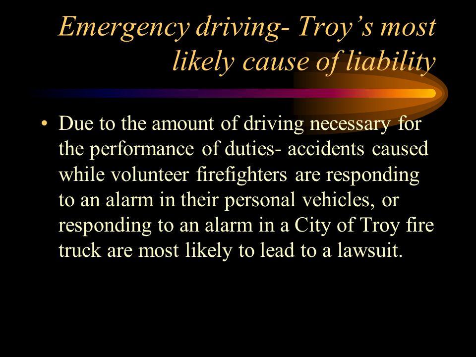 Michigan emergency driving cases Fiser v.
