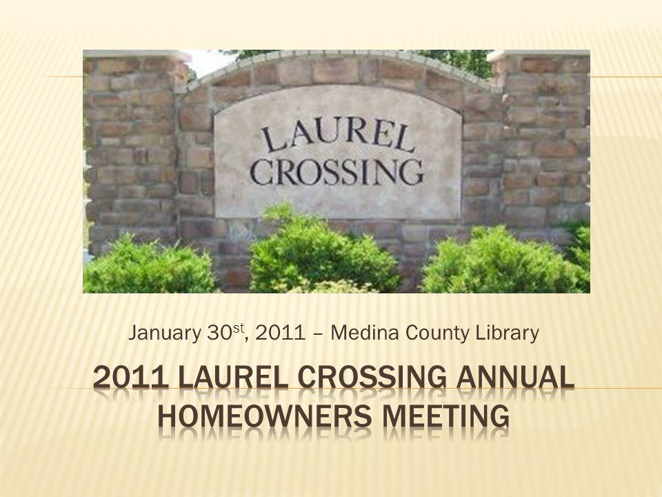January 30 st, 2011 – Medina County Library