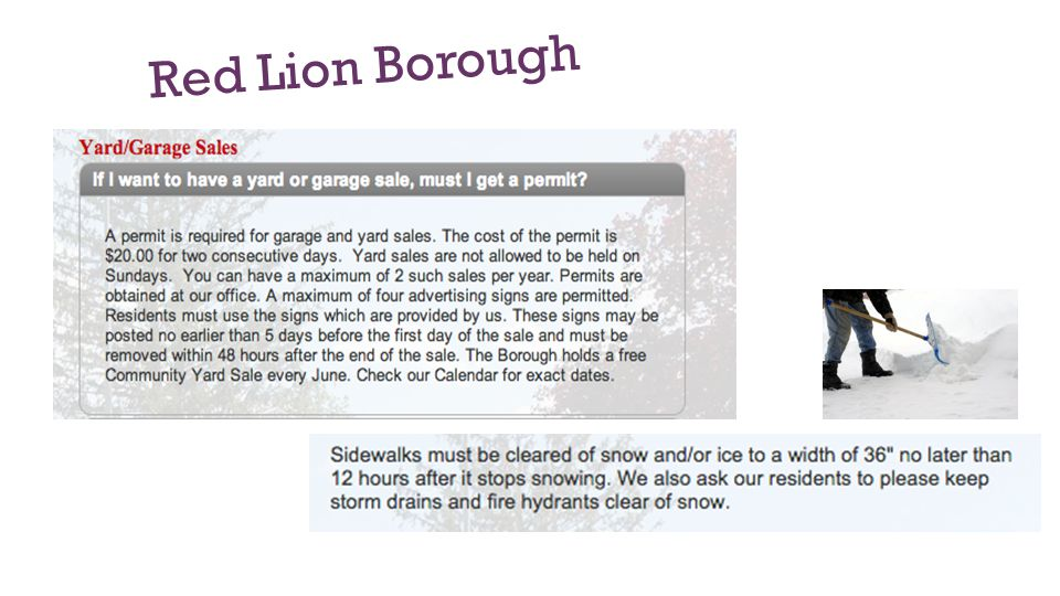 Red Lion Borough