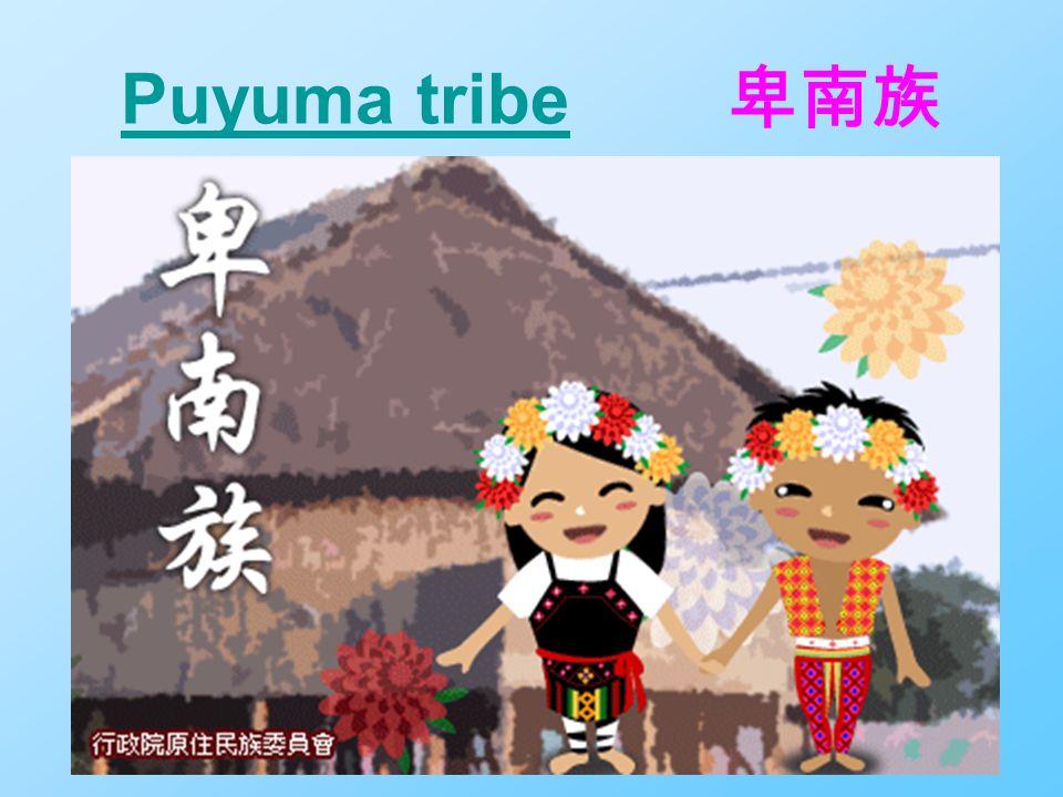 Puyuma tribePuyuma tribe 卑南族