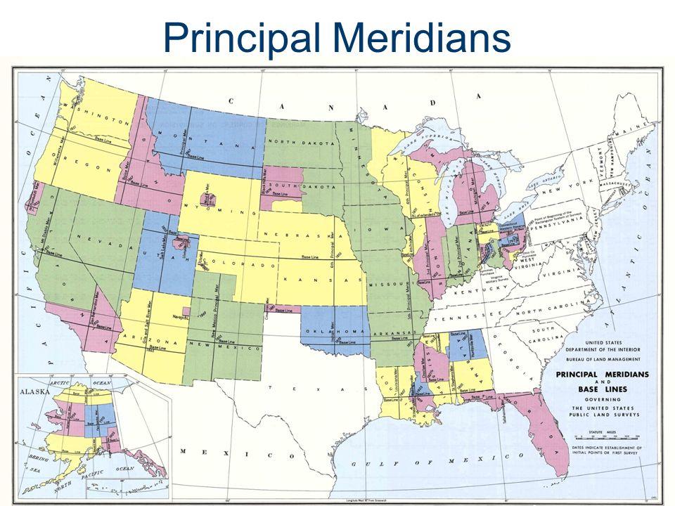 Principal Meridians