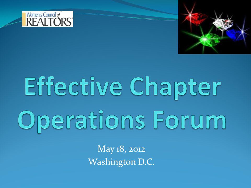 May 18, 2012 Washington D.C.
